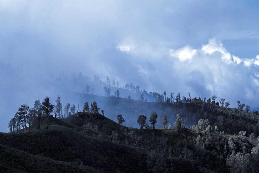 Mount Ijen på Java